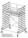 Rusztowanie przejezdne aluminiowe - STABILO 500 | wys. rob. 4,4m