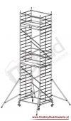 Rusztowanie przejezdne aluminiowe - ProTec XXL | wys. rob. 8,3m