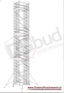 Rusztowanie przejezdne aluminiowe - ProTec XXL | wys. rob. 14,3m