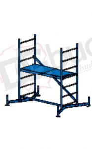 Rusztowanie aluminiowe -  ClimTec | wys. rob. 3,0m