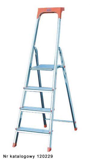 Drabina jednostronna wolnostojąca 5 schodków